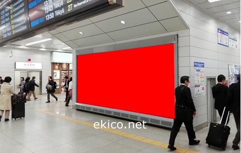 新幹線駅大型ビジョン