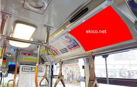 大阪シティバス 車内ポスター