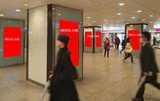 百貨店前デジタルサイネージ