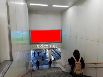 看板】JR西日本大久保駅 コンコース No.14|関西の駅・電車・交通 ...
